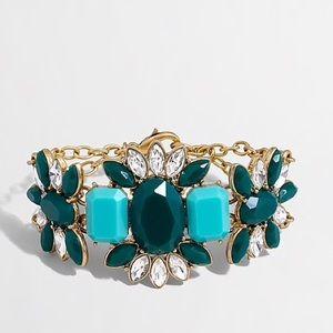J. Crew Stone Centerpiece Bracelet